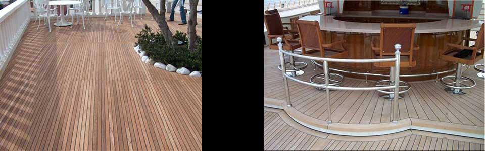 Ship lap decking