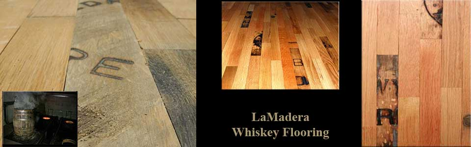 LaMadera Whiskey barrel flooring